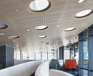 available in firesafe or standard mdf with a large range of real timber veneer or paint finishes dcortech ceiling tiles are a simple solution to your grid